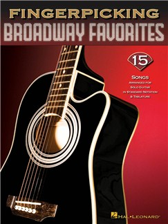 Fingerpicking Broadway Favorites Books | Guitar Tab, Voice