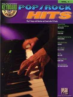 Keyboard Play-Along Volume 1: Pop/Rock Hits Books and CDs | Keyboard