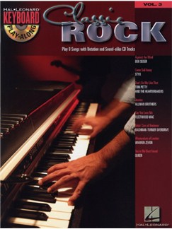 Keyboard Play-Along Volume 3: Classic Rock Books and CDs | Keyboard
