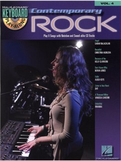 Keyboard Play-Along Volume 4: Contemporary Rock CD et Livre | Clavier