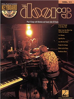 The Doors: Keyboard Play-Along Volume 11 (Book And CD) Books and CDs | Keyboard
