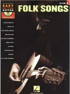 Easy Rhythm Guitar Volume 10: Folk Songs Books and CDs | Guitar
