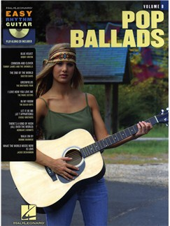 Easy Rhythm Guitar Volume 8: Pop Ballads Books and CDs | Guitar Tab