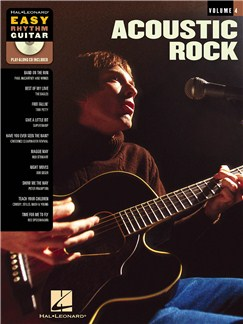 Easy Rhythm Guitar Volume 4 - Acoustic Rock (Book And CD) Books and CDs | Guitar