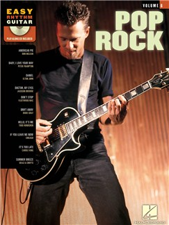 Easy Rhythm Guitar Volume 6: Pop/Rock Books and CDs   Guitar Tab