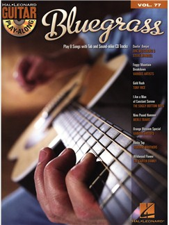 Guitar Play-Along Volume 77: Bluegrass Books and CDs | Guitar Tab