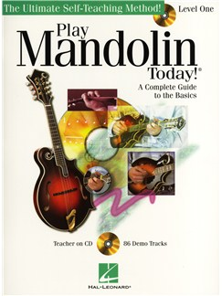 Play Mandolin Today! Level 1 (Book/CD) Books and CDs | Mandolin