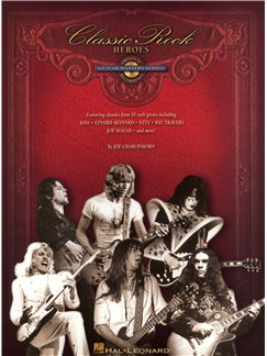 Joe Charupakorn: Classic Rock Heroes Books and CDs | Guitar Tab, Guitar
