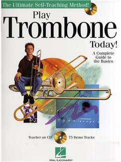 Play Trombone Today! - A Complete Guide To The Basics CD et Livre | Trombone