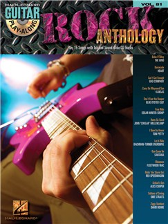 Guitar Play-Along Volume 81: Rock Anthology Books and CDs | Guitar, Guitar Tab