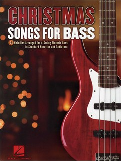 Christmas Songs For Bass Books | Bass Guitar