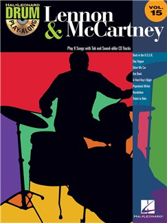 Drum Play-Along Volume 15: Lennon & McCartney Books and CDs | Drums