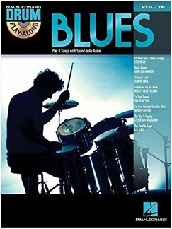 Drum Play-Along Volume 16: Blues CD et Livre |