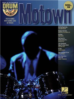 Drum Play-Along Volume 18: Motown Books and CDs | Drums
