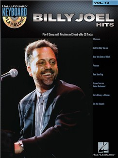 Keyboard Play-Along Volume 13: Billy Joel - Hits Books and CDs | Piano, Vocal & Guitar