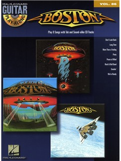 Guitar Play-Along Volume 86: Boston Books and CDs | Guitar Tab