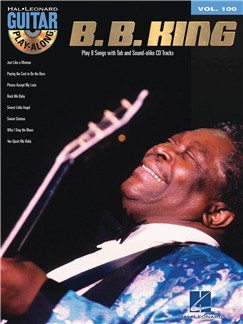 Guitar Play-Along Volume 100: B.B. King CD et Livre | Tablature Guitare