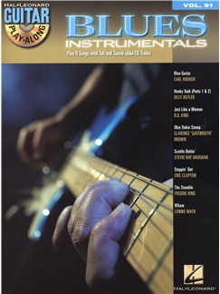 Guitar Play-Along Volume 91: Blues Instrumentals Books and CDs | Guitar Tab, Guitar