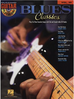 Guitar Play-Along Volume 95: Blues Classics Books and CDs | Guitar, Guitar Tab