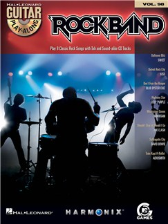 Guitar Play-Along Volume 98: Rock Band Books and CDs | Guitar, Guitar Tab