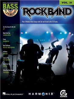Bass Play-Along Volume 21: Rock Band Books and CDs | Bass Guitar, Bass Guitar Tab