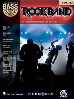 Bass Play-Along Volume 22: Rock Band Books and CDs | Bass Guitar Tab