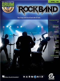 Drum Play-Along Volume 19: Rock Band Books and CDs | Drums