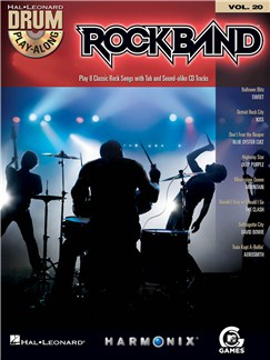 Drum Play-Along Volume 20: Rock Band Books and CDs | Drums