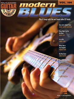Guitar Play-Along Volume 166: Modern Blues Books and CDs | Guitar, Guitar Tab