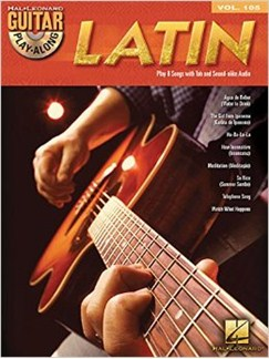 Guitar Play-Along Volume 105: Latin (Book/CD) Books and CDs | Guitar