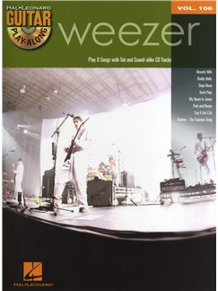 Guitar Play-Along Volume 106: Weezer Books and CDs | Guitar Tab