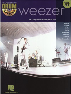 Drum Play-Along Volume 21: Weezer Books and CDs | Drums