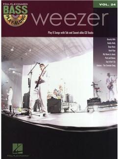Bass Play-Along Volume 24: Weezer Books and CDs | Bass Guitar