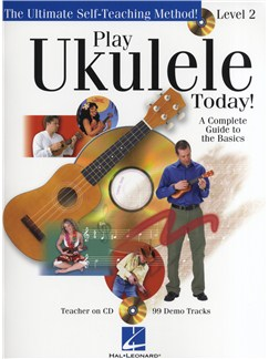 Play Ukulele Today! Level Two Books and CDs | Ukulele