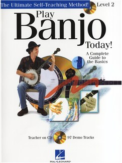 Play Banjo Today! - Level 2 Books and CDs | Banjo
