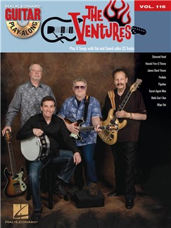 Guitar Play-Along Volume 116: The Ventures Books and CDs | Guitar Tab