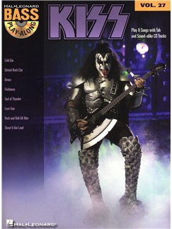 Bass Play-Along Volume 27: Kiss Books and CDs | Bass Guitar