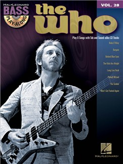 Bass Play-Along Volume 28: The Who Books and CDs | Bass Guitar