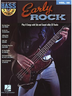 Bass Play-Along Volume 30: Early Rock Books and CDs | Guitar Tab, Guitar