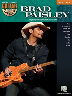 Guitar Play-Along Volume 117: Brad Paisley Books and CDs | Guitar
