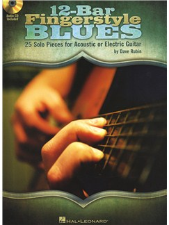 Dave Rubin: 12-Bar Fingerstyle Blues Books and CDs | Guitar Tab, Guitar