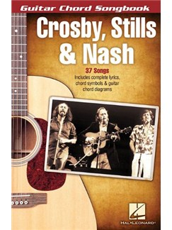 Crosby, Stills & Nash: Guitar Chord Songbook Books | Guitar