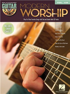 Guitar Play-Along Volume 124: Modern Worship Books and CDs | Voice, Guitar Tab
