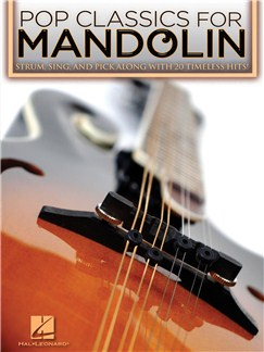 Pop Classics For Mandolin Books | Mandolin