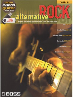 Boss eBand Guitar Play-Along Volume 2: Alternative Rock Books | Guitar, Guitar Tab