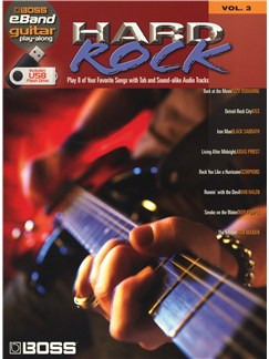 Boss eBand Guitar Play-Along Volume 3: Hard Rock Books | Guitar, Guitar Tab