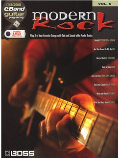 Boss eBand Guitar Play-Along Volume 5: Modern Rock Books | Guitar, Guitar Tab