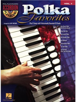 Accordion Play-Along Volume 1: Polka Favourites Books and CDs | Accordion