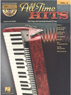 Accordion Play-Along Volume 2: All-Time Hits Books and CDs | Accordion