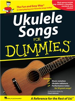 Ukulele Songs For Dummies Livre | Ukelele
